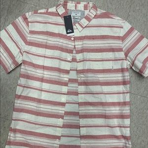 Quiksilver NWT button up
